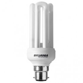 Lampe fluocompacte Mini Lynx Fast Start - culot B22 SYLVANIA