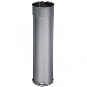 Tubage inox rigide coulissant inox 304 - simple paroi + bague TEN
