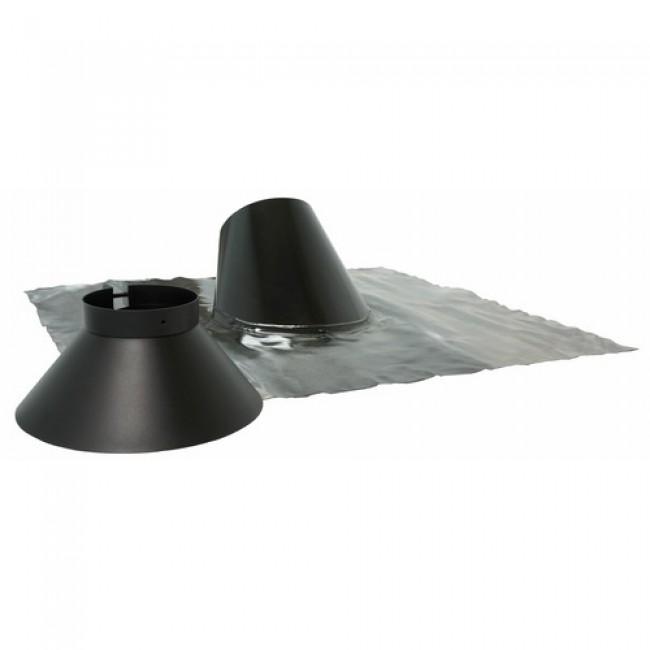 Solin inox pour pente de toit 30/45° - Bioten TEN