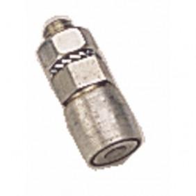 Guide à tige filetée pour portes pliantes et accordéon - galet 20 mm ROB