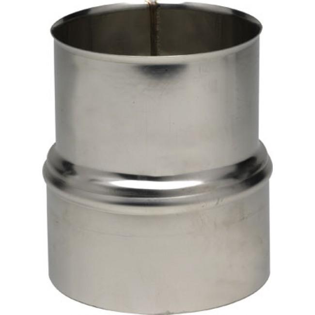 Réduction inox pour tubage flexible TEN