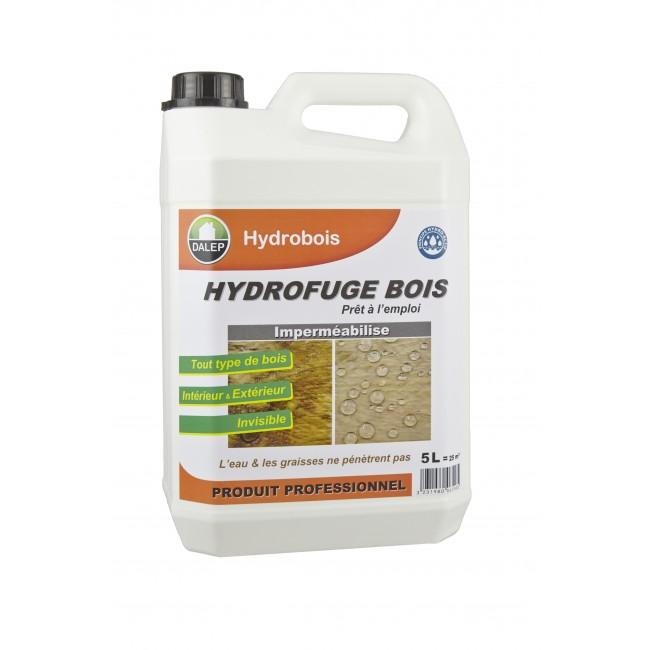 Hydrofuge bois Hydrobois - 5L - 25m2 DALEP