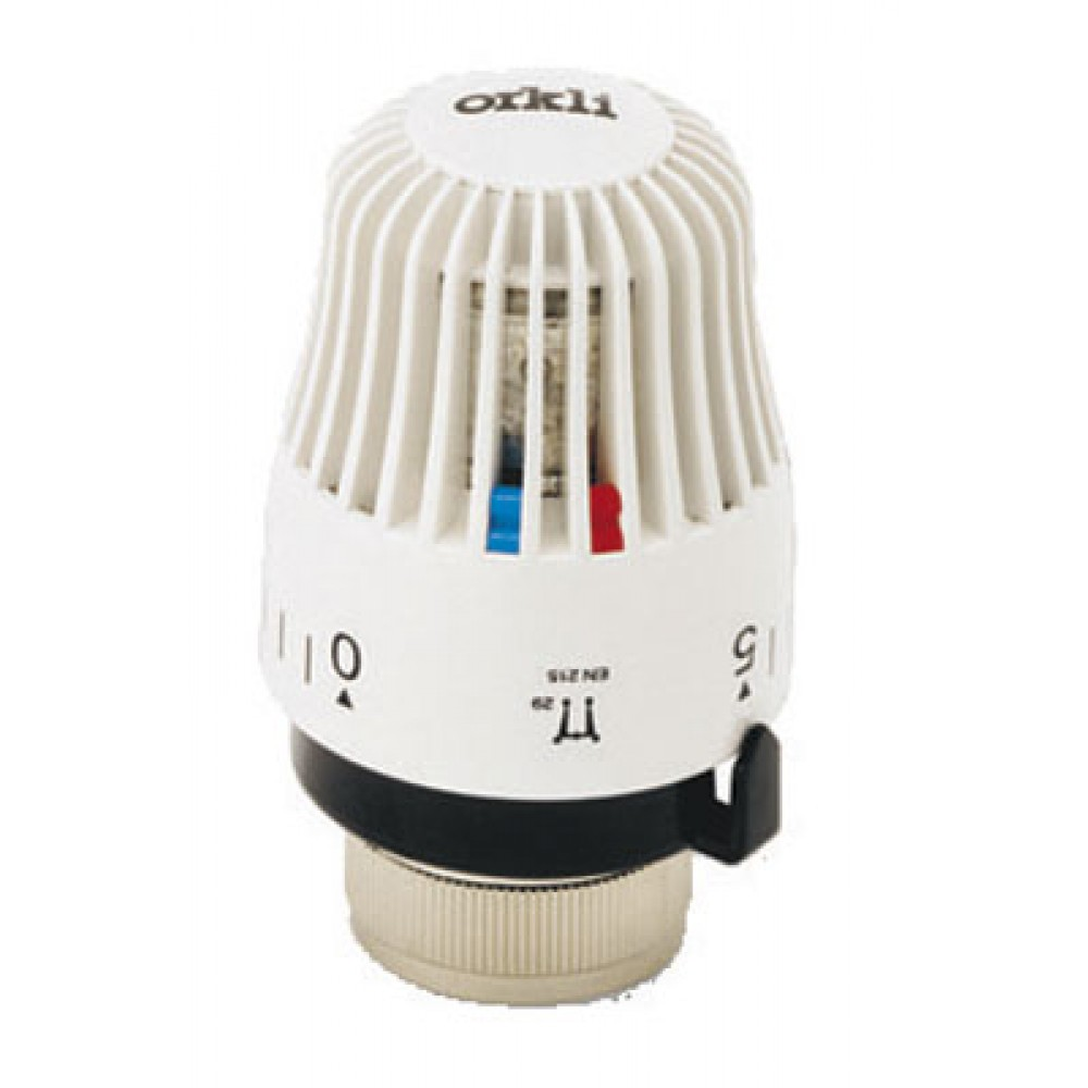 T te thermostatique bulbe cire harmony bricozor - Tete robinet thermostatique ...