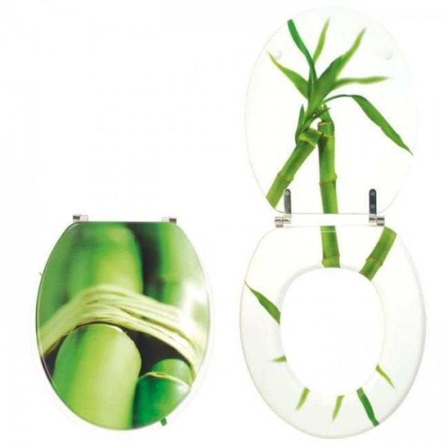 Abattant wc - sur cuvette standard - Végétal Trendy Line WIRQUIN PRO