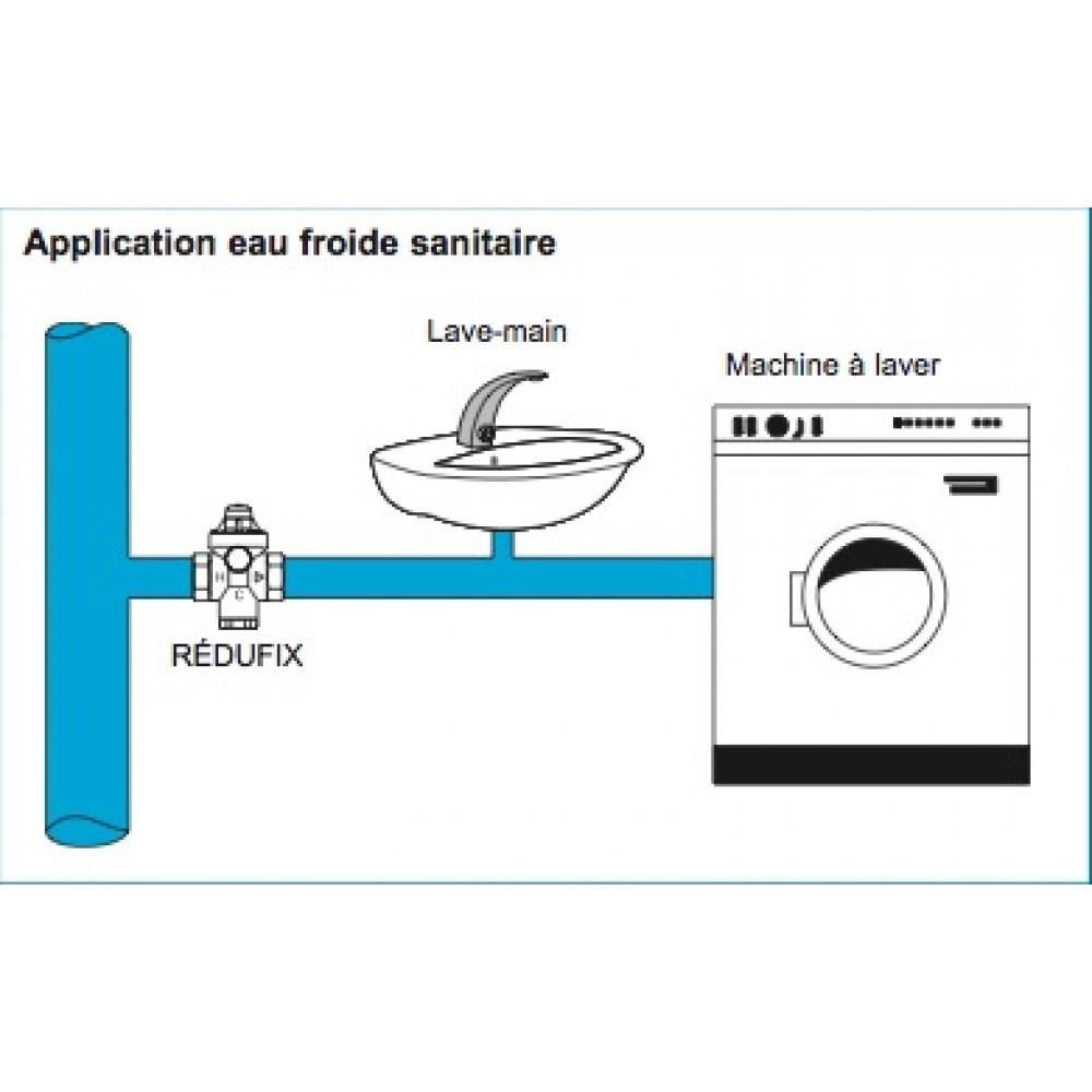 R ducteur de pression pour chauffe eau redufix watts bricozor - Reducteur pression chauffe eau ...
