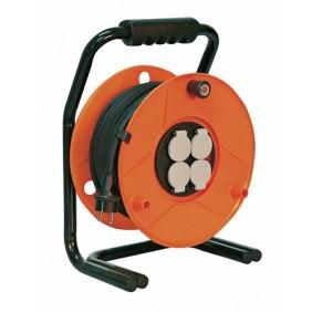Enrouleur câble électrique - Garant S - disjoncteur thermique BRENNENSTUHL