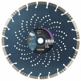 Disque diamant à tronçonner - jante segmentée - Pro TT SIDAMO