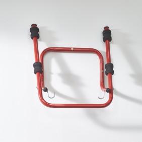 Support 2 vélos mural rabattable - 44x52x30 cm Mottez