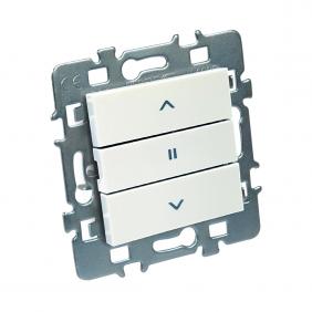 Mécanisme commande de volet roulant + cache + support métal - Casual DEBFLEX