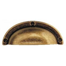 Poignée coquille - Zamak couleur bronze BOSETTI