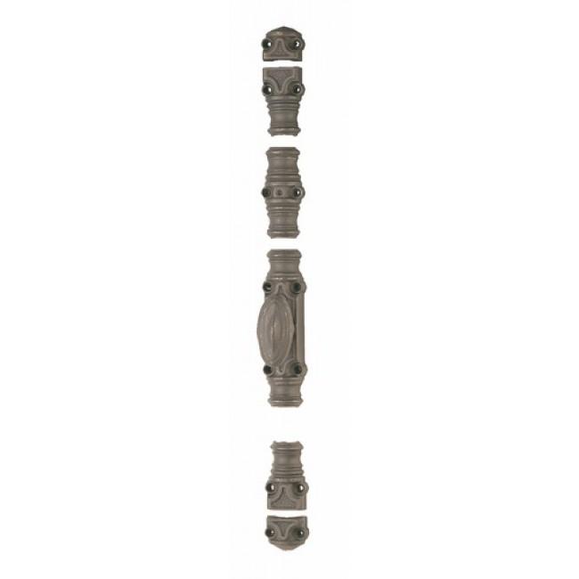 Crémone en fonte pour menuiserie bois - RY 59-02 gris mat JARDINIER MASSARD