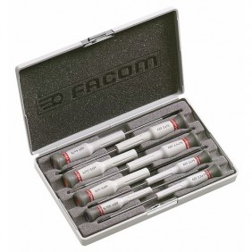 Jeu de 8 tournevis de précision MicroTech AEF.J6 FACOM