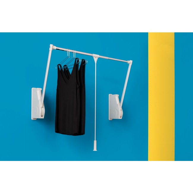 Penderie escamotable double 10 kg - fixation murale - WALL LIFT AMBOS