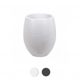 Pot rond - diamètre 50 cm - contenance 53 litres - Graphit EDA PLASTIQUES