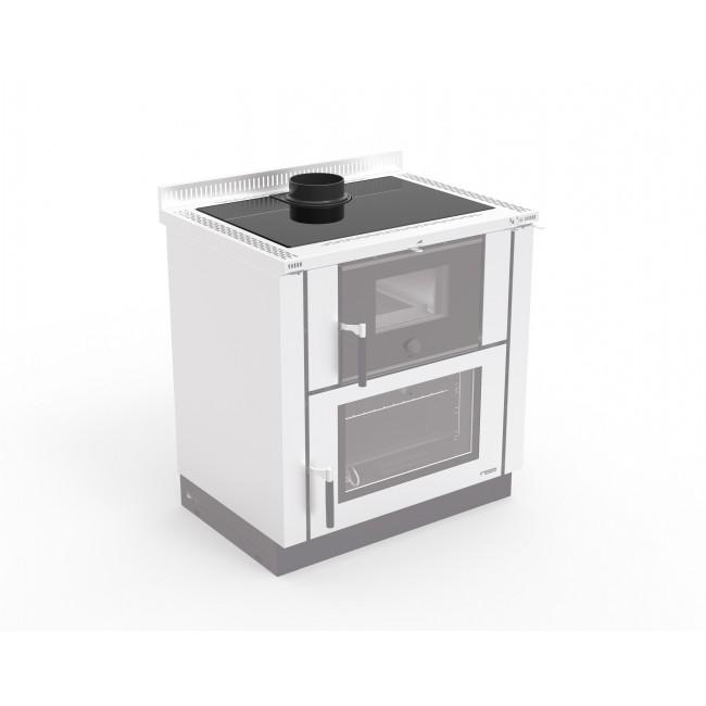 Kit plan vitrocéramique - pour cuisinière à bois LA NORDICA EXTRAFLAME