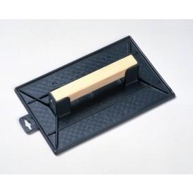Taloche plastique rectangulaire - manche bois GLODIS