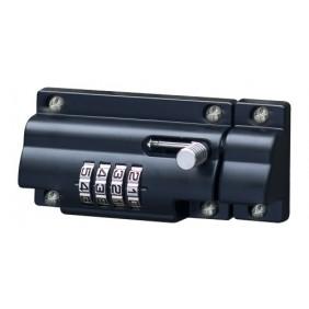 Verrou de box à code par molettes - gauche ou droite - Zinc moulé BURG WACHTER