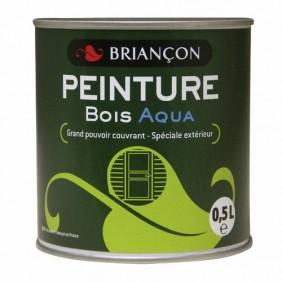 Peinture bois -  polyuréthane mono-couche - extérieur - Aqua BRIANCON