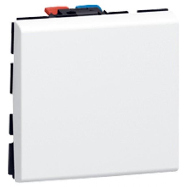 Interrupteur va-et-vient - 2 modules - 10 AX - Mosaic LEGRAND