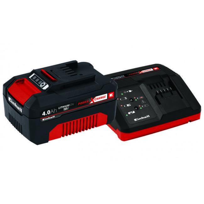 Starter Kit batterie Power X Change - 18 volts - 4,0 Ah EINHELL