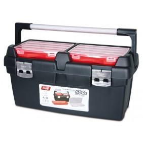 Boite à outils - 2 organiseurs à 10 compartiments - 600 x 305 x 295 mm TAYG