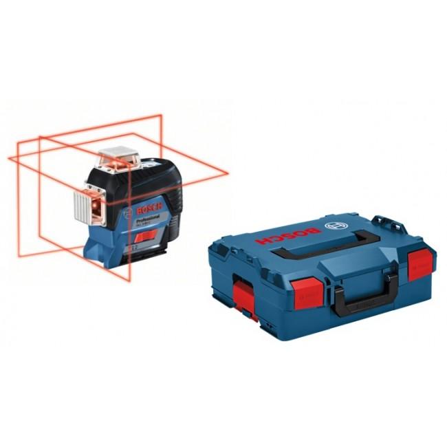 Niveau laser ligne GLL 3-80 C solo + support BM1 + L-Boxx - 0601063R03 BOSCH
