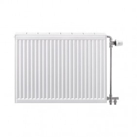 Radiateur chauffage central - horizontal - 2 trous Compact All In STELRAD
