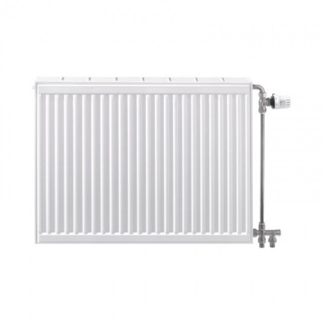 Radiateur chauffage central - horizontal - 4 trous Compact All In STELRAD