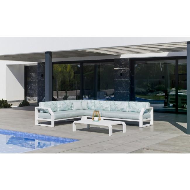 Salon de jardin en aluminium - Antinea INDOOR OUTDOOR