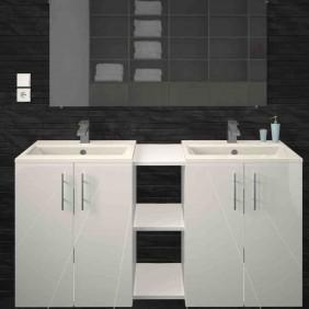 Meuble de salle de bain 120 cm - différentes finitions -  Lime BAIN ROOM