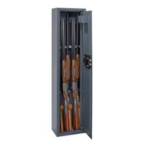 Armoire à fusils à clé - capacité de 5 fusils - Brissac THIRARD