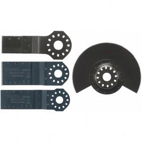 Kit 4 accessoires pour bois et métaux MAKITA
