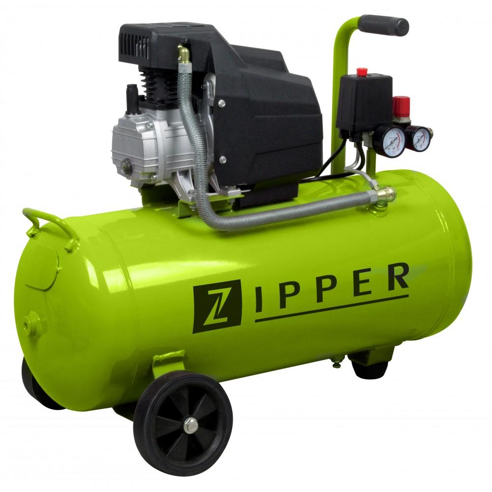 Compresseur cuve 50 litres zi com50e zipper bricozor - Compresseur 50 litres ...