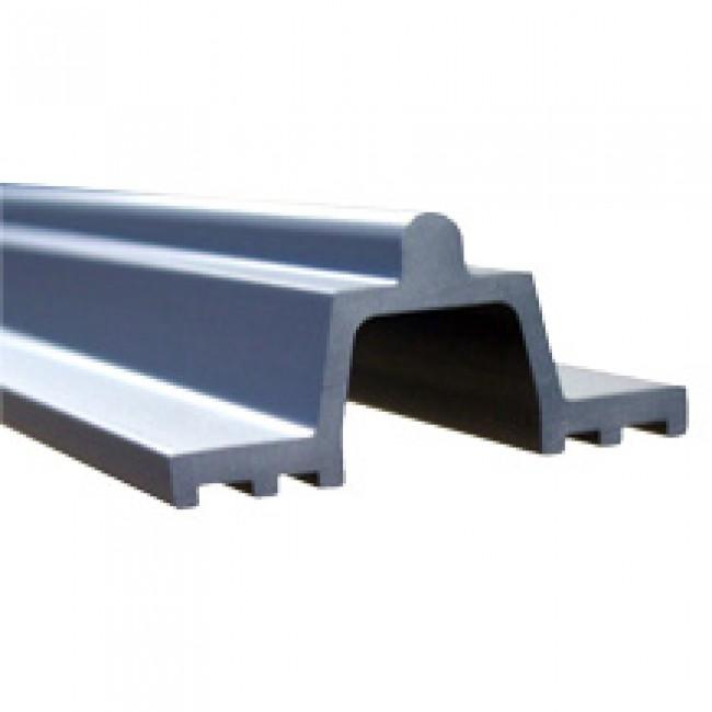 Rail de roulement P 432 pour ferrures coulissantes levantes GU937 FERCO