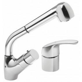 Mitigeur thermostatique bain/douche - 2 trous - Mastermix Mini SANILAB