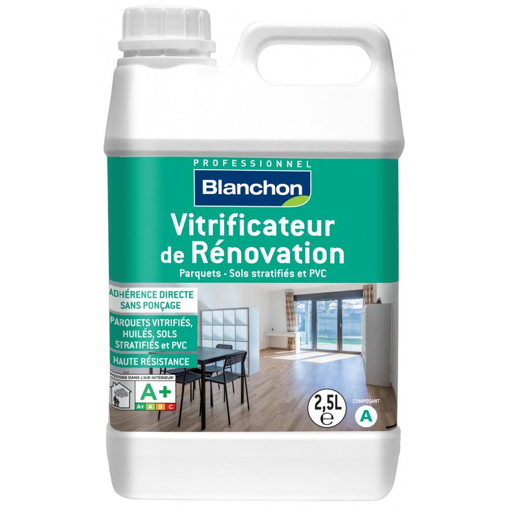 Vitrifier Parquet Sans Poncer vitrificateur de rénovation - parquet, bois stratifiés et pvc blanchon sur  bricozor