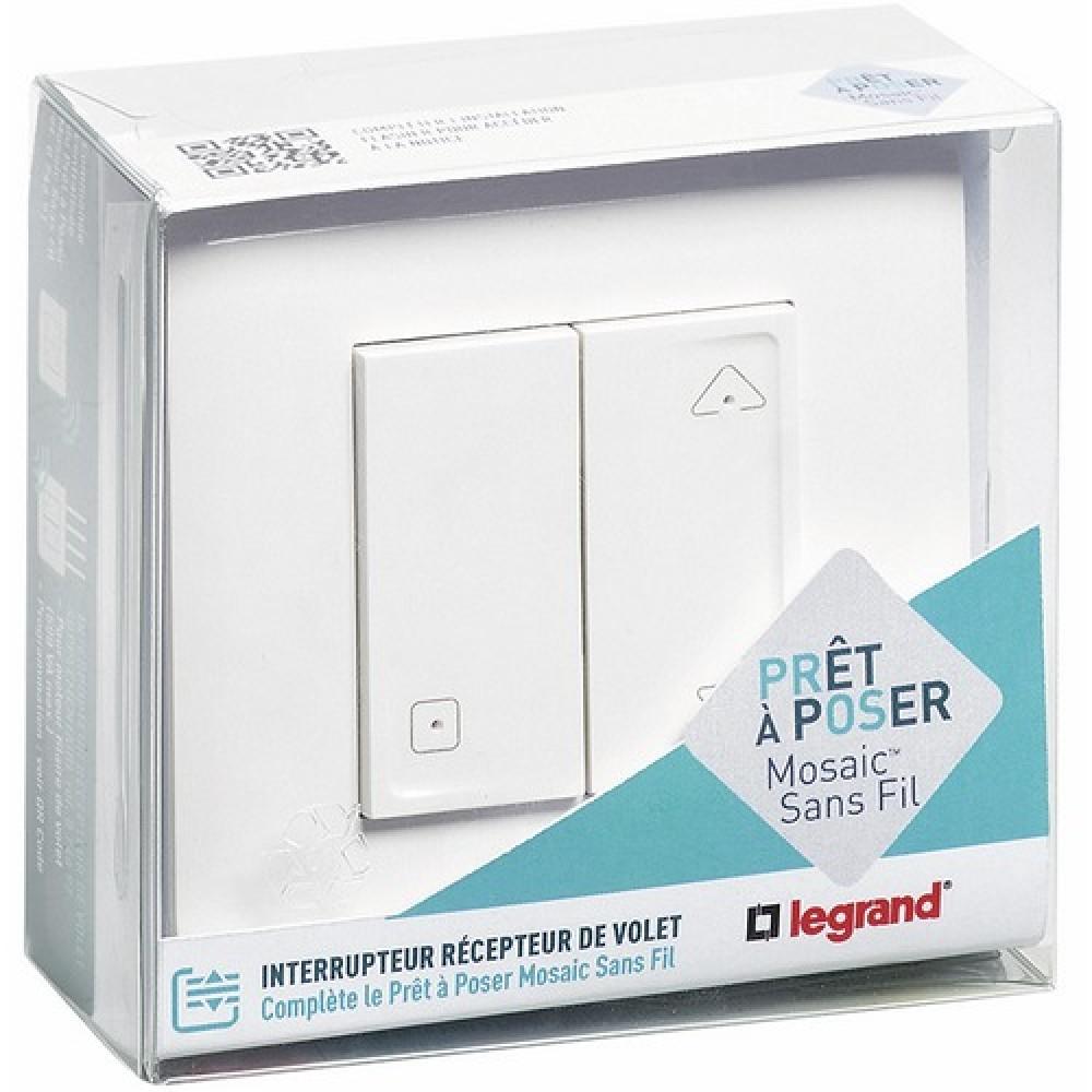 interrupteur sans fil suppl mentaire pour volet. Black Bedroom Furniture Sets. Home Design Ideas