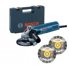 Meuleuse 125 mm 880W GWS 880 + 2 disques diamants - 060139600B BOSCH