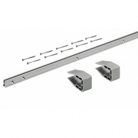 Profil porte coulissante SlideLine M-vantail 30 kg HETTICH