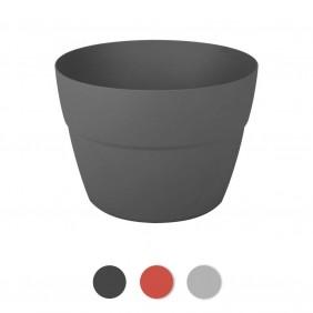 Pot cavalier Cancùn - diamètre 30 cm - 8 litres EDA PLASTIQUES