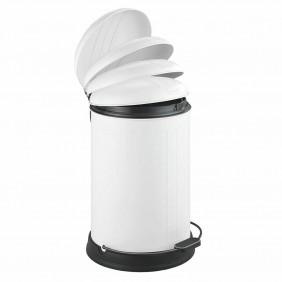 Poubelle à pédale Easy-close - Lagun - capacité 12 litres WENKO