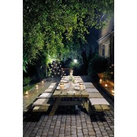 Table pique nique en bois avec bancs - longueur 300 cm - Garden 300B