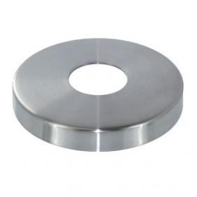 Cache embase de pince à verre garde-corps - ronde diamètre 98 mm - inox Design Production