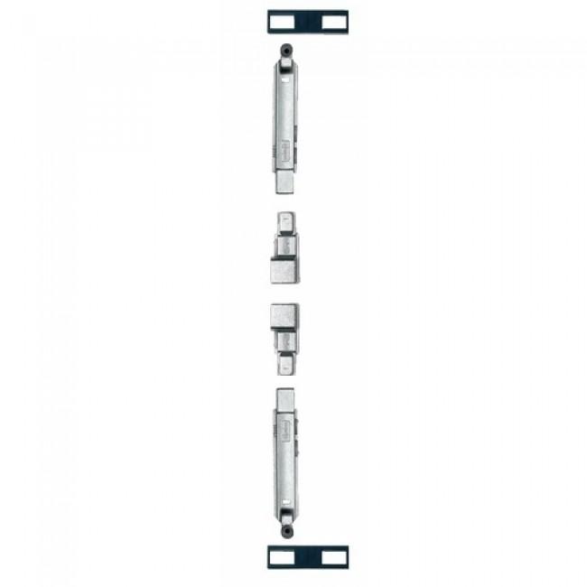 Crémone 1518 pour menuiserie aluminium 2 vantaux FAPIM BENELUX
