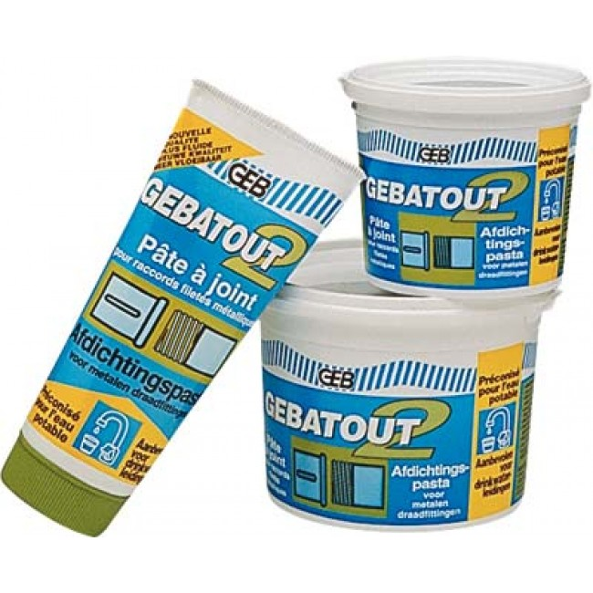 Pâte à joint Gebatout 2 - Tube de 250 ml GEB