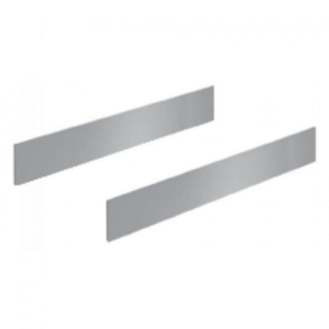 Parois latérales TopSide pour tiroir InnoTech Atira-H144mm-argent HETTICH