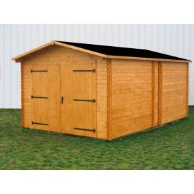 Garage en bois 17,19 m2 Dorna 3554 HABRITA