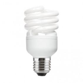 Lampe fluocompacte Spirale - culot à vis E27 GE LIGHTING