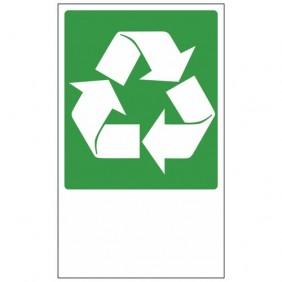 Panneau de recyclage des déchets - 330 x 200 mm NOVAP