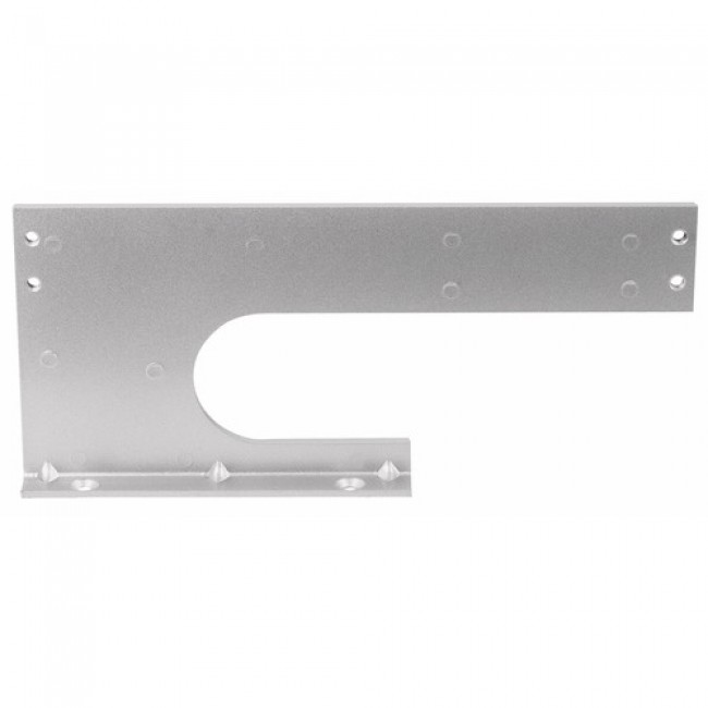 Plaque support d'attache pour ferme-porte GR 010
